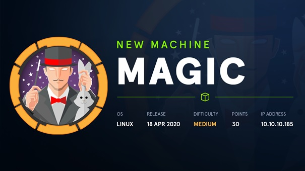 HTB Walkthrough Magic 10.10.10.185